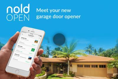 Nold Open - Meet your new garage door opener